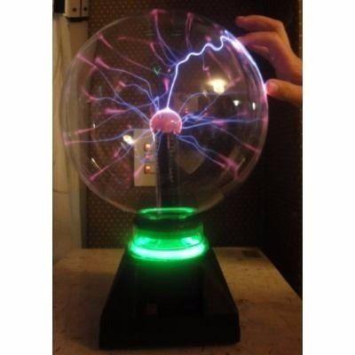 Lampara De Plasma Jumbo Rayos Tesla La Mas Grande Neon 245 00 Lampara De Plasma Lampara Plasma