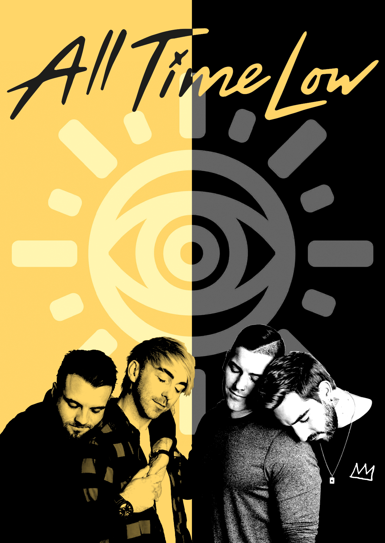 all time low wus poster all time low