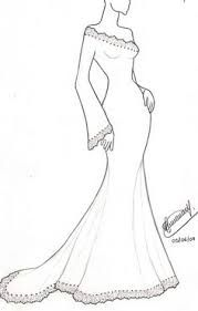 Resultado De Imagem Para Desenhos De Vestidos Para Produzir Em Uma