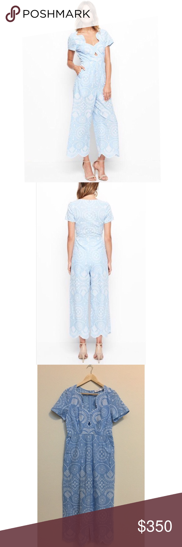d05b85f08c Alice McCall 8 Crave You Jumpsuit In Sky Blue  450 Alice McCall Women s 8  Crave You