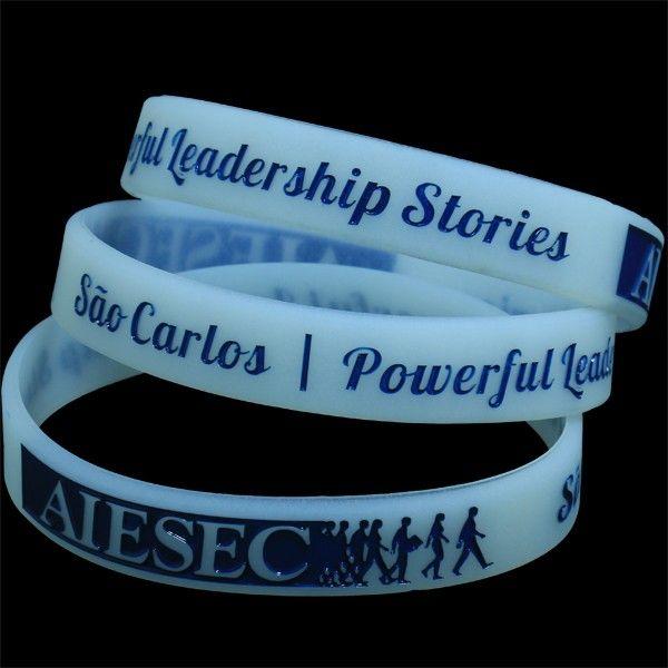 Custom Design Silicone Wristband For