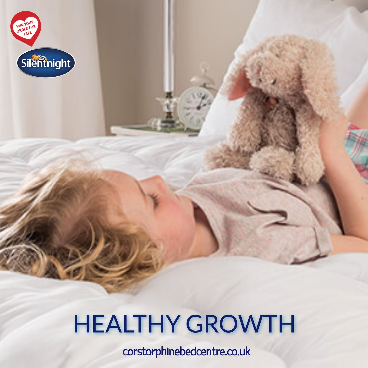 Silentnight Healthy Growth 600 Pocket Small Double Mattress Silentnight Small Double Mattress Body Support