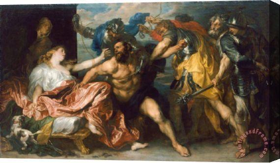 Anton Van Dyck Samson And Delilah Art