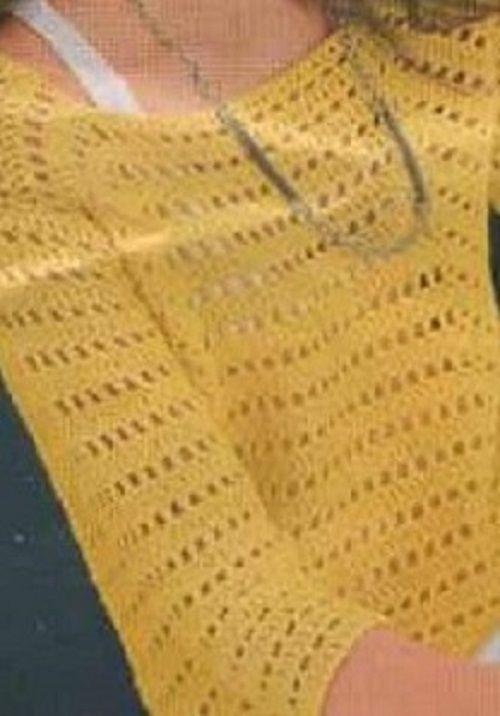 a8c8e83787 Horgolt nyári pulóver | Kötés - Horgolás | Horgolt | Tejidos