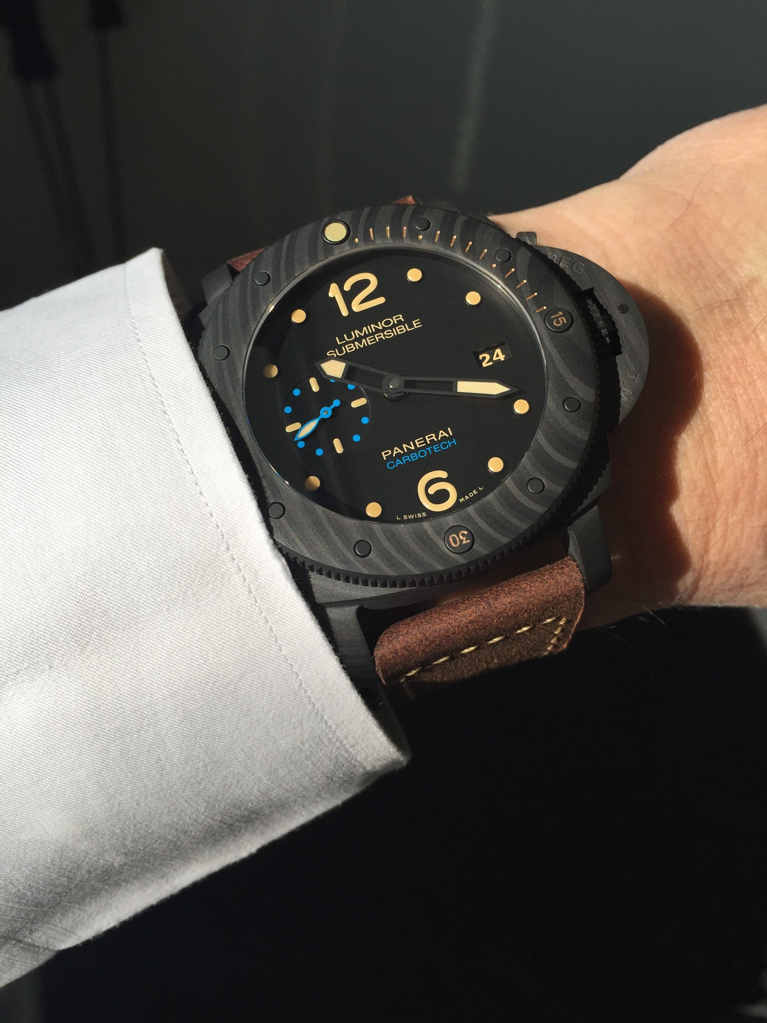 Panerai PAM 616 Carbotech Submersible, une merveille d'innovation...