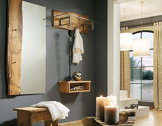 klein garderobe loca mit garderoben ablage 289 159 erste wohnung pinterest mud rooms. Black Bedroom Furniture Sets. Home Design Ideas