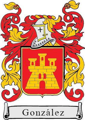 Apellido Gonzalez Escudo De Armas Apellidos Escudo De Armas Escudo De La Familia