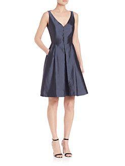 Akris - Silk Shantung Coat Dress