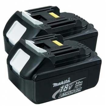 Makita Bl1830 2 18v 3 0ah Lxt Lithium Ion Batteries Lithium Ion Batteries Cordless Power Tools Power Tool Batteries