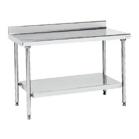 Table inox adossée 190x70 cm | Matériel de pâtisserie | Pinterest