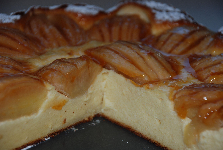 Apfel Kasekuchen Quarkkuchen Ohne Boden Rezept Mit Bildern Quarkkuchen Ohne Boden Apfel Kasekuchen Quarkkuchen