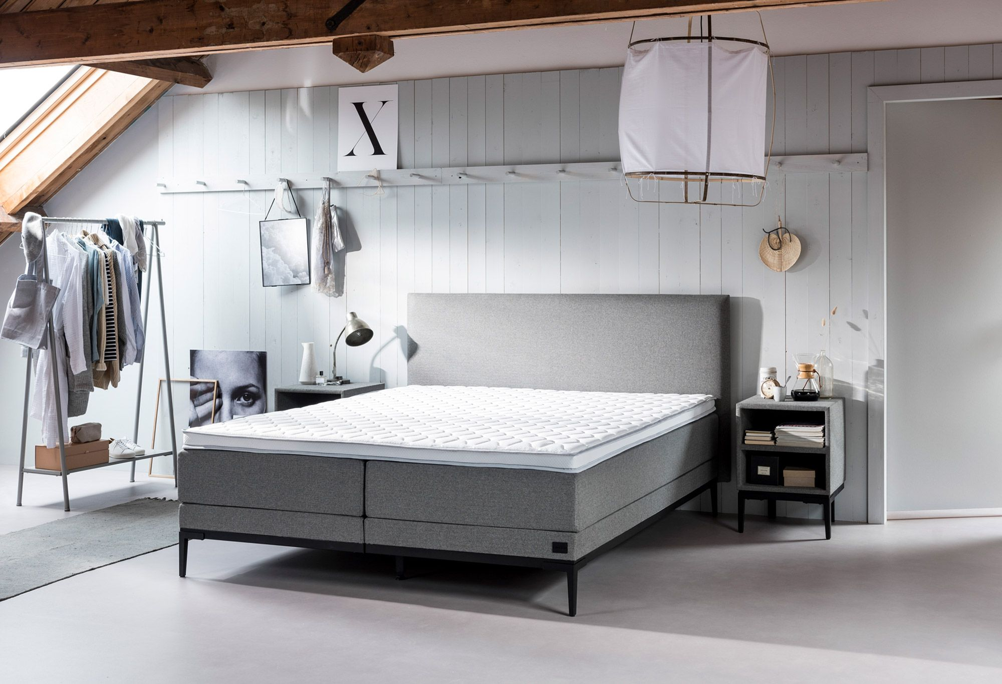 Boxspring Lifestyle By Vtwonen Thyme In 2020 Slaapkamer