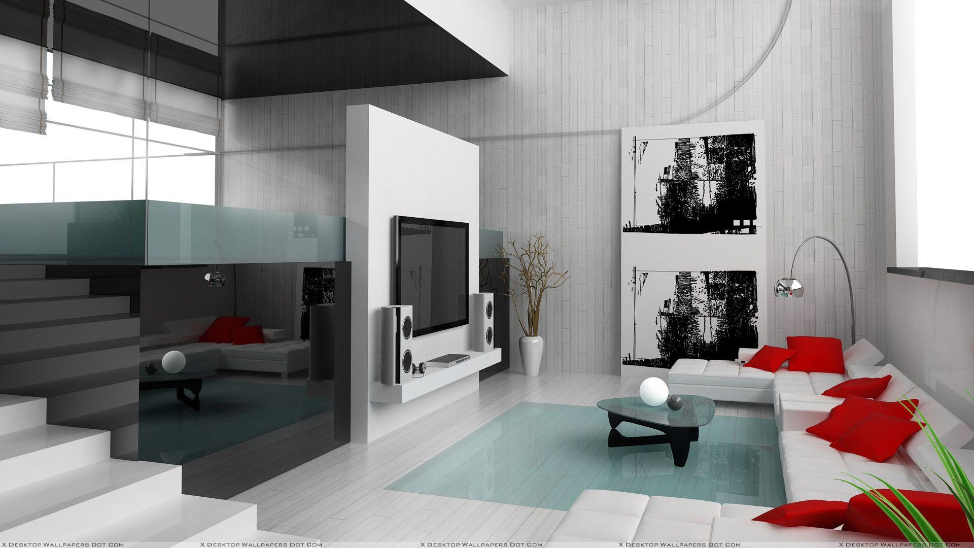 Black White Home Interior Design Living Room Design Modern Minimalist Living Room Design