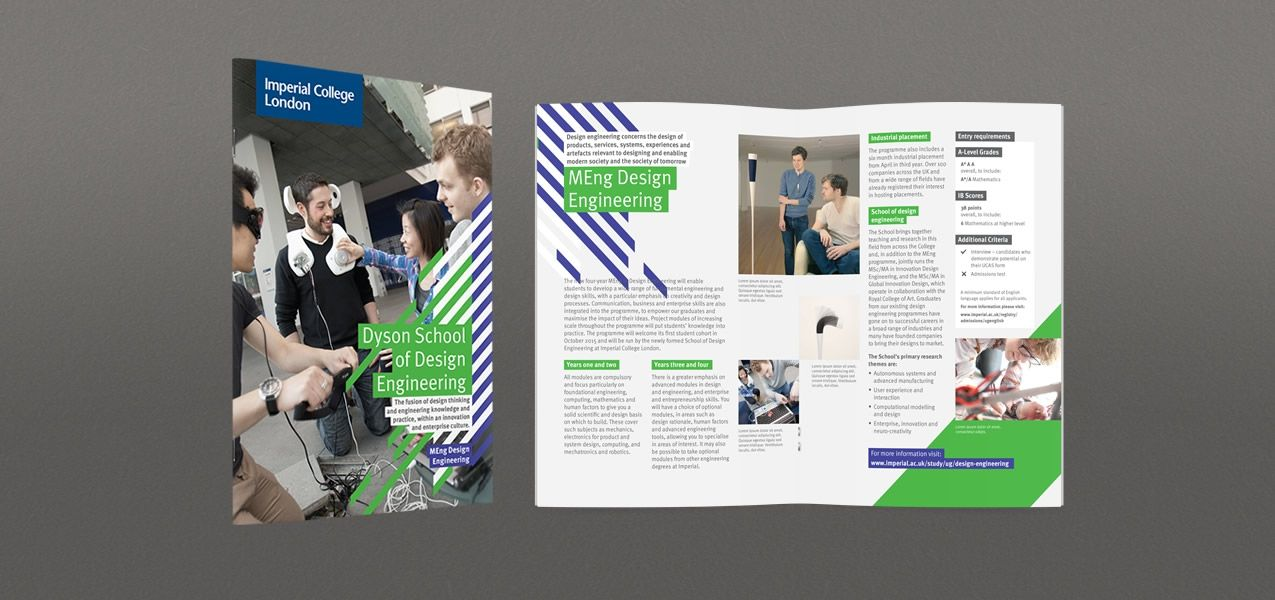 Dyson School Of Design Engineering Brand For Imperial College London Imperial College London Engineering Design Imperial College