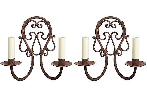 great sconces for the dining room | Candlestick chandelier ... on Dining Room Sconce Idea id=48576