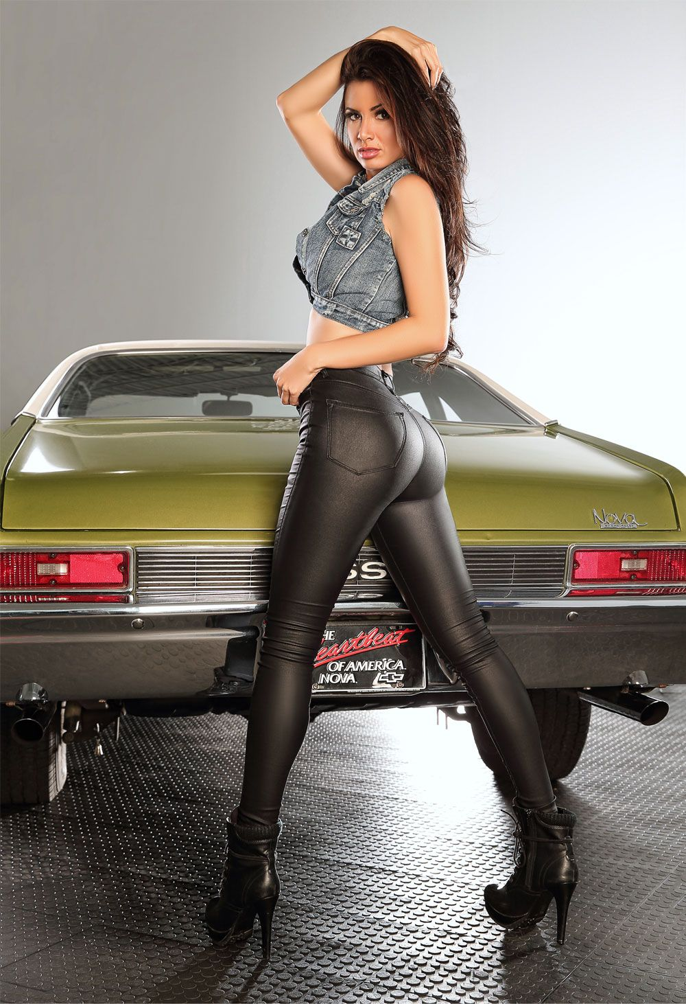 Chevy nova with naked girl fill blank