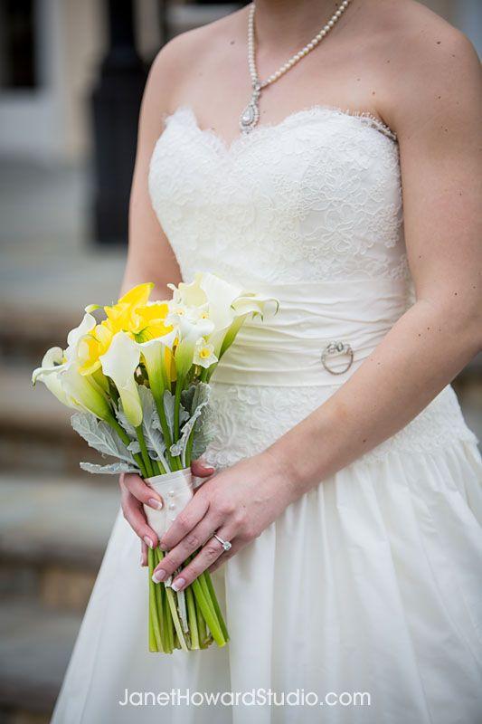 Piedmont Driving Club Wedding Yellow And Grey Modern Jewish