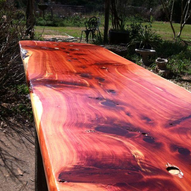 Cedar Table Top