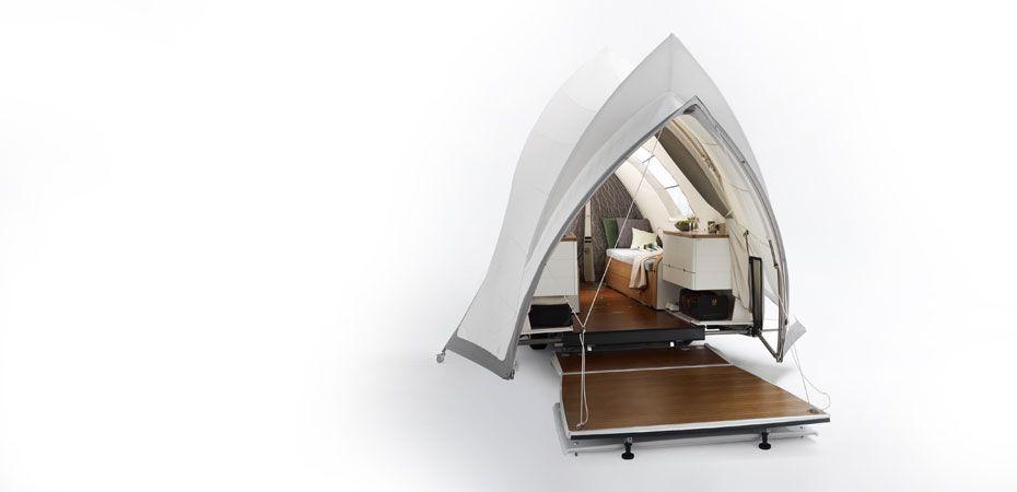 Opera, suite in nature, tente, hut, caravane, ysin.de