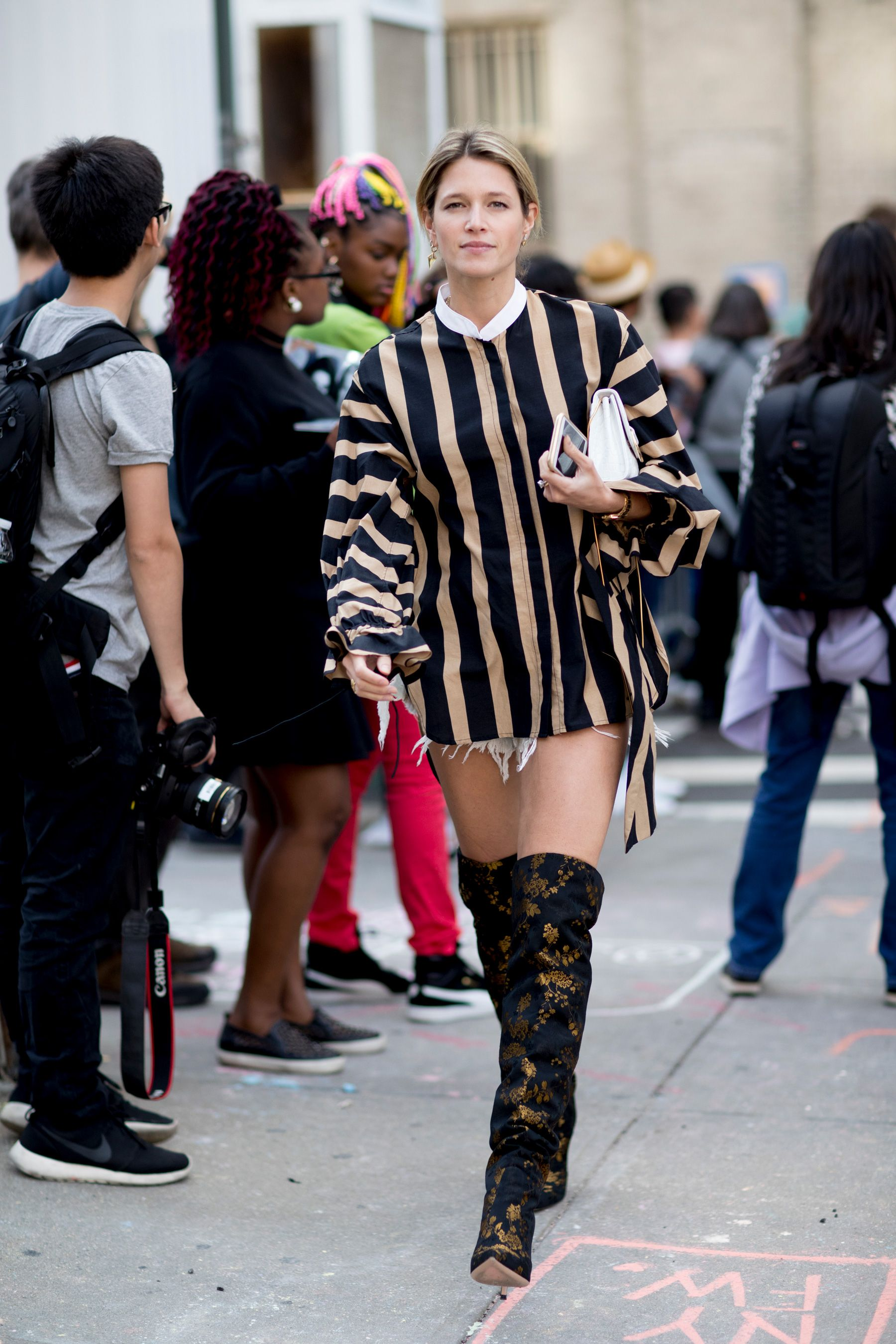 The Best Street Style From New York Fashion Week Street