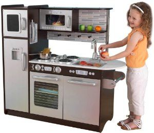 Pretty sure my little guy would love playing chef in this toy ...