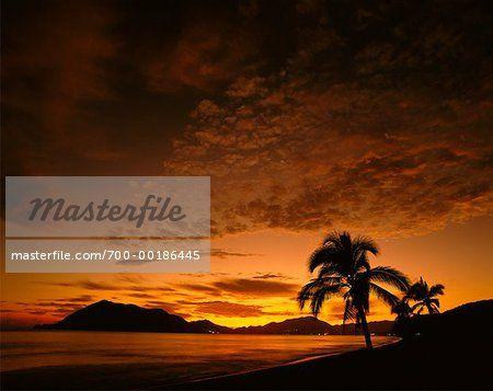 Scenic Sunset Manzanillo, Mexico