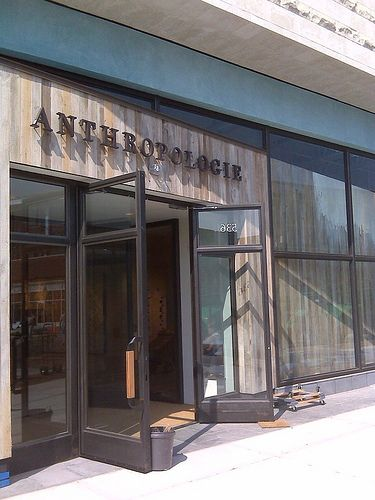 Dedham, MA Anthropologie Store | Store design, Store fronts ...