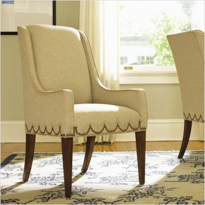 Scallop Nailhead Trim On Chair. Dining Arm ChairLiving Room ...