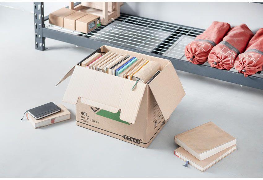 Caja De Carton De Color Marron Para Transportar O Guardar Objetos