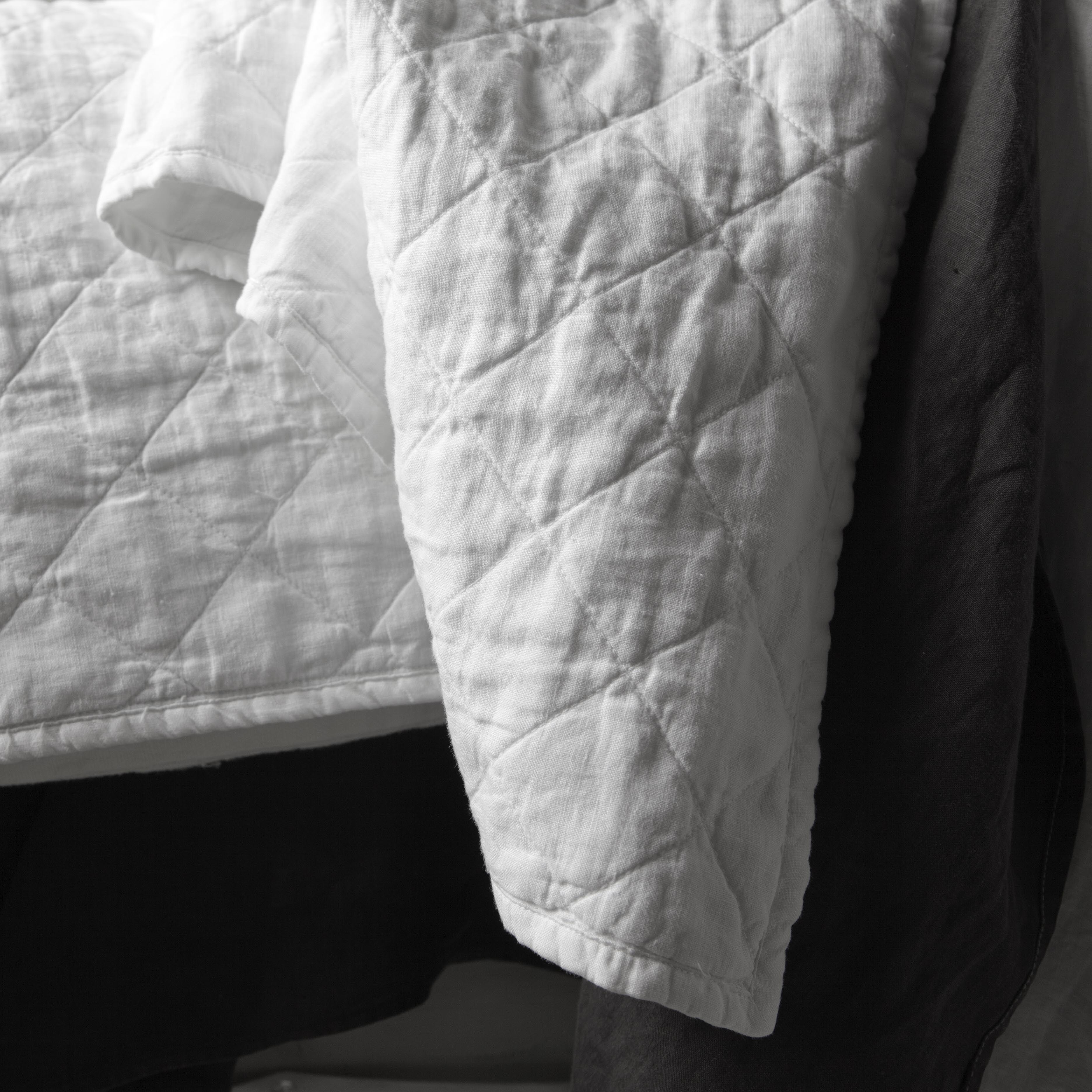 Ida Quilt, Queen 90x94 in Greige or Coal | MATTEO :: $348 - 100 ... : matteo quilt - Adamdwight.com