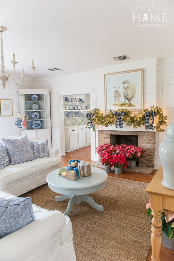 More True Blue Cottage   Holly Mathis Interiors