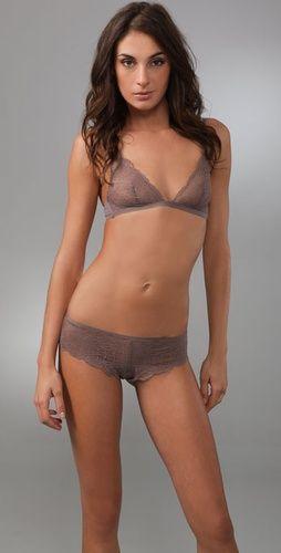 f8005766ec Calvin Klein Underwear Envy Lace Triangle Bra