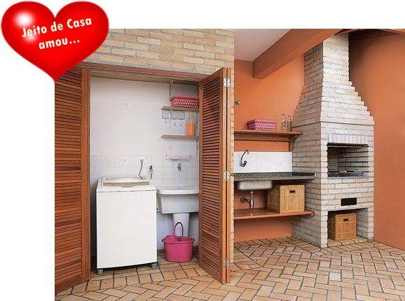 Outdoorküche Deko Uñas : Escondendo a área de serviço! casa pinterest