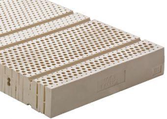 Materasso in lattice 100% - h19 a 7 zone differenziate Cod. LA19 ...