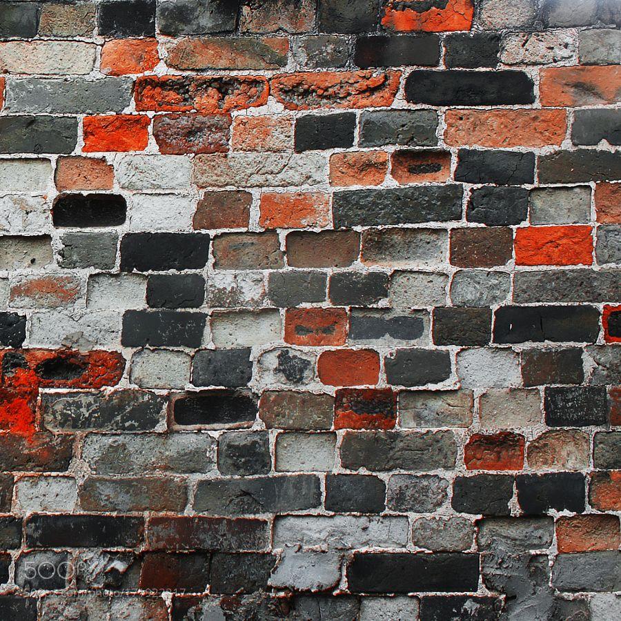 old brick wall by marijarvinen. @go4fotos
