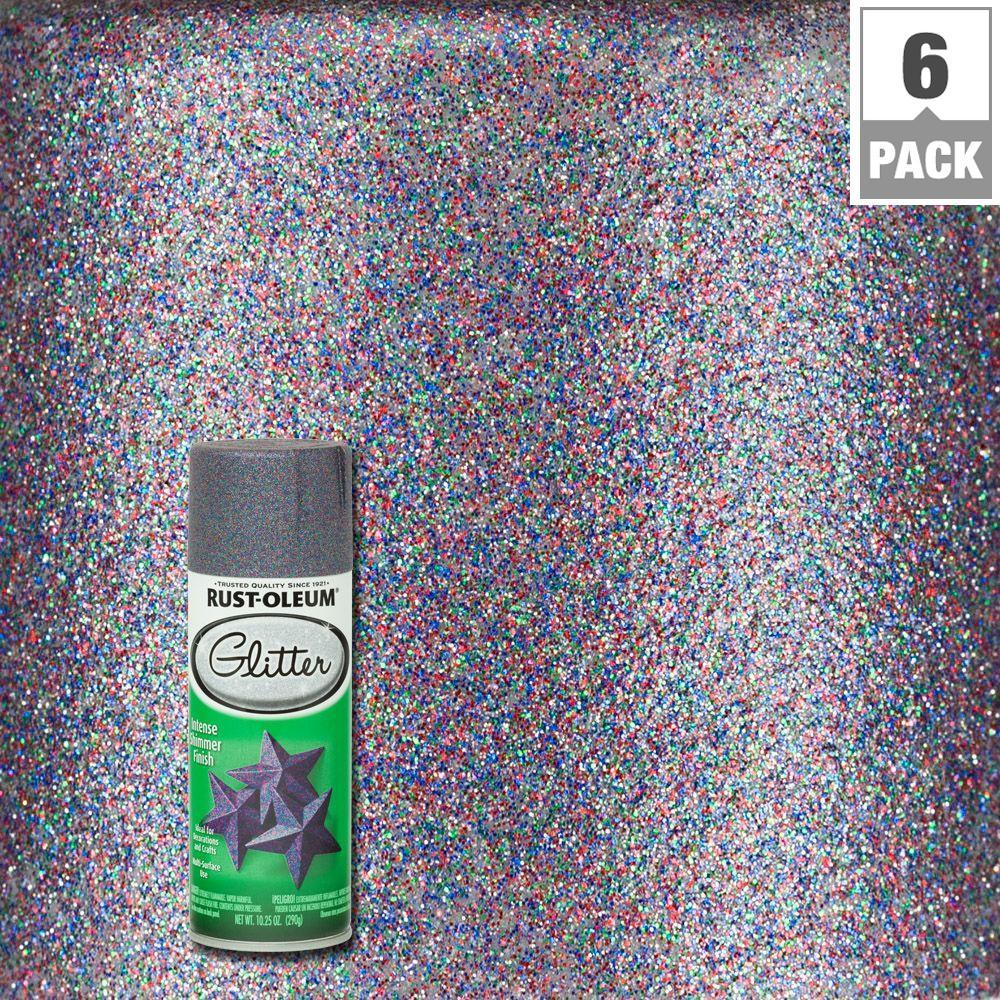 Rust Oleum Specialty 10 25 Oz Kelly Green Glitter Spray