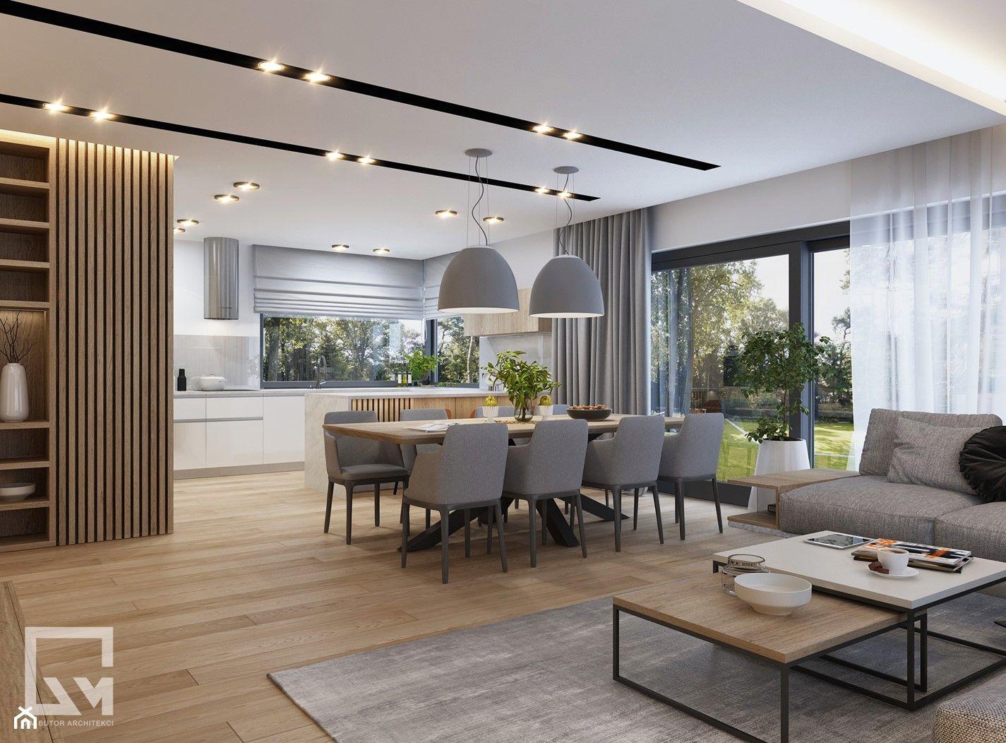Kuchnia Styl Nowoczesny Luxury Living Room Decor Dining Room Design Modern Living Room Design Decor