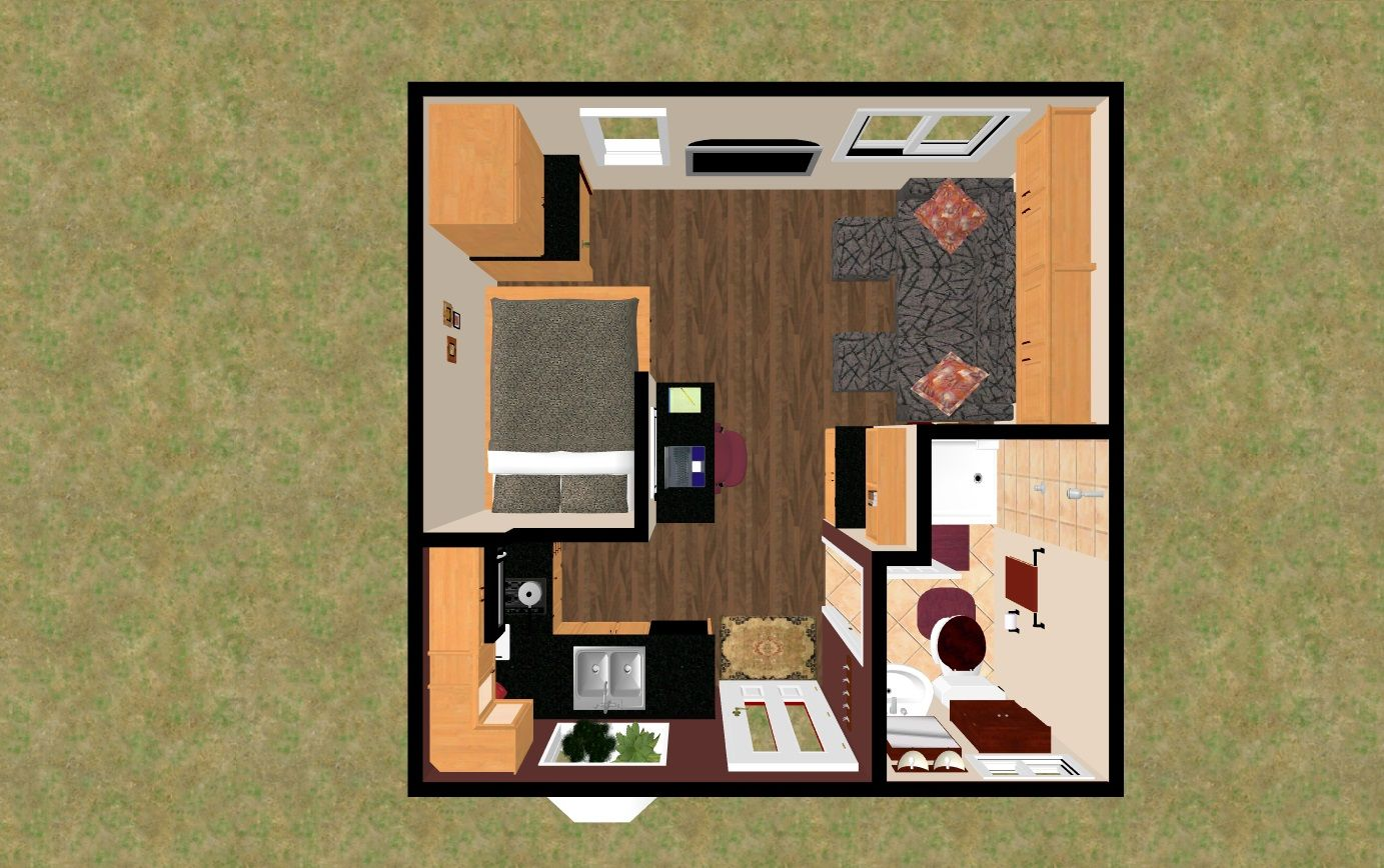 This 256 Sq Ft Floor Plan I M Calling The Treasure Chest Xxl Is