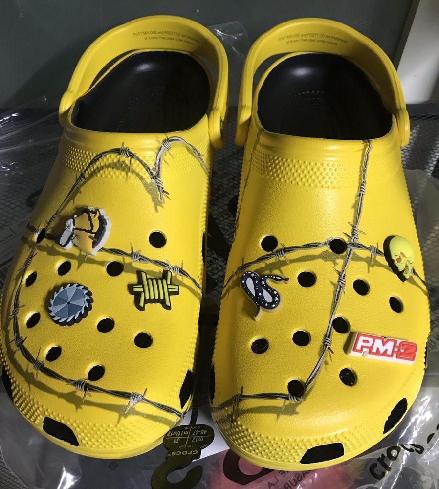 Post Malone X Crocs Size 12 M. #fashion #clothing #shoes