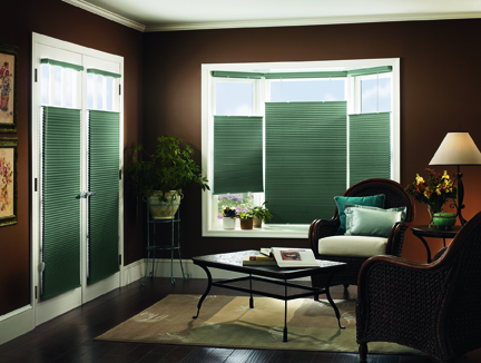 CrystalPleat Graber® Blackout Cellular Shades Graber