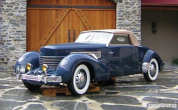 1937 Cord 812sc Convertible Coupe