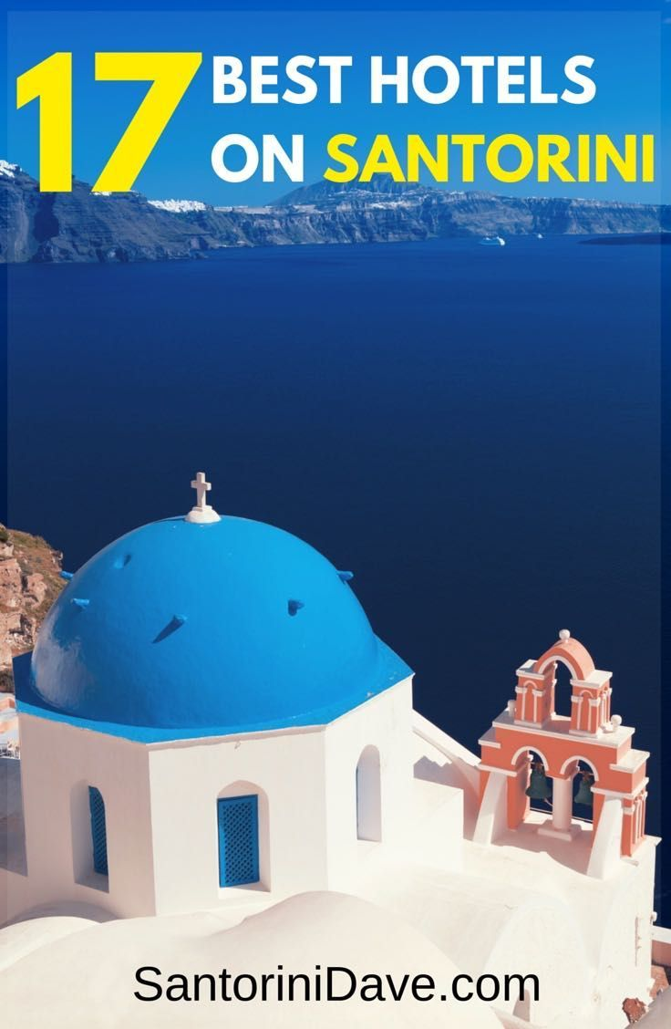 The Best Luxury And Boutique Hotels On Santorini