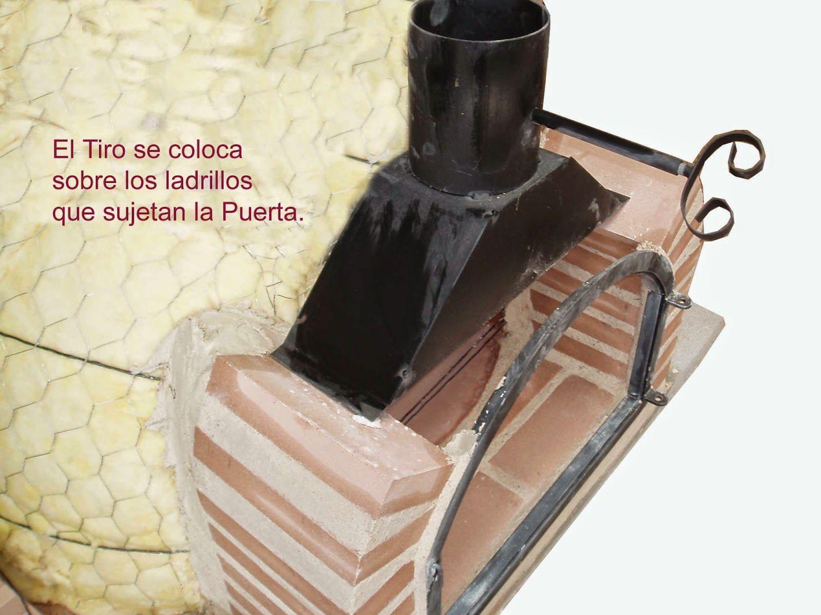 Como hacer un horno de barro construcci n de un horno de le a bricolage pinterest horno - Como hacer horno de lena ...