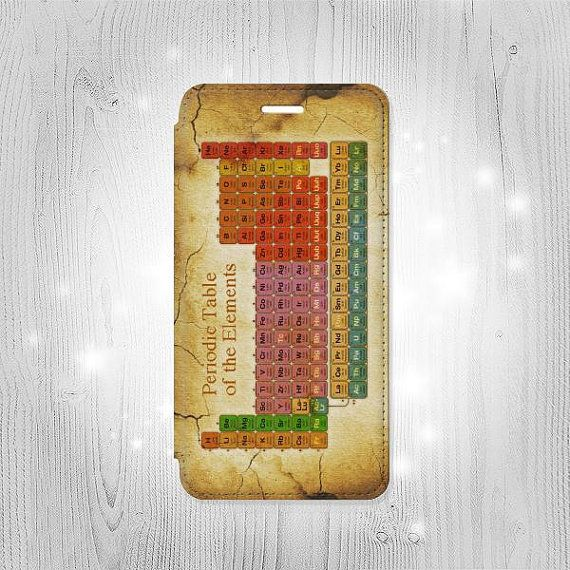 Vintage Periodic Table of Elements iPhone 6S 6 Plus by Lantadesign