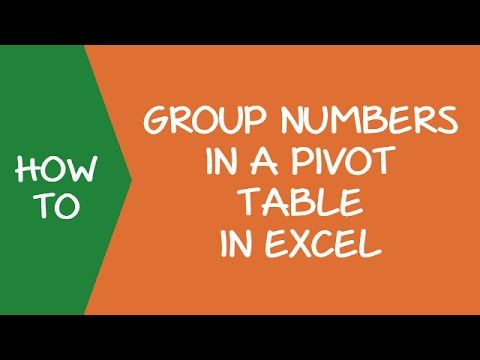 How to Group Numbers in Pivot Table in Excel Pivot table