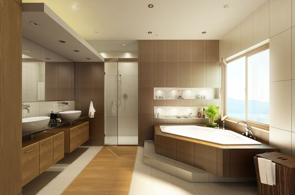 15 Stunning Modern Bathroom Designs Home Design Lover Modern Bathroom Design Best Bathroom Designs Modern Master Bathroom Design