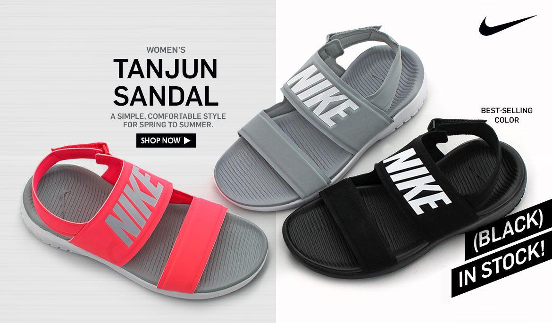 e7085017046c Shop Women s Nike Tanjun Sandal!