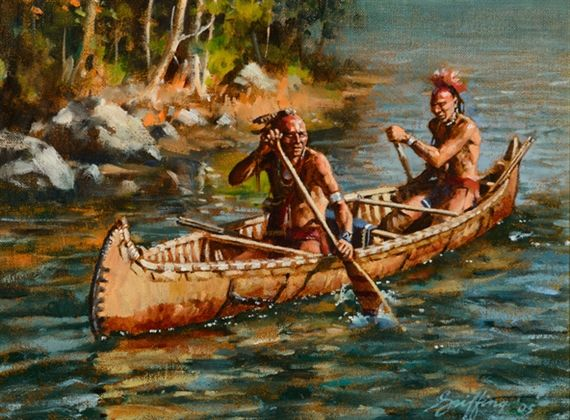 Artworks of Robert Griffing | Native american artwork, Native american  artists, Native american pictures