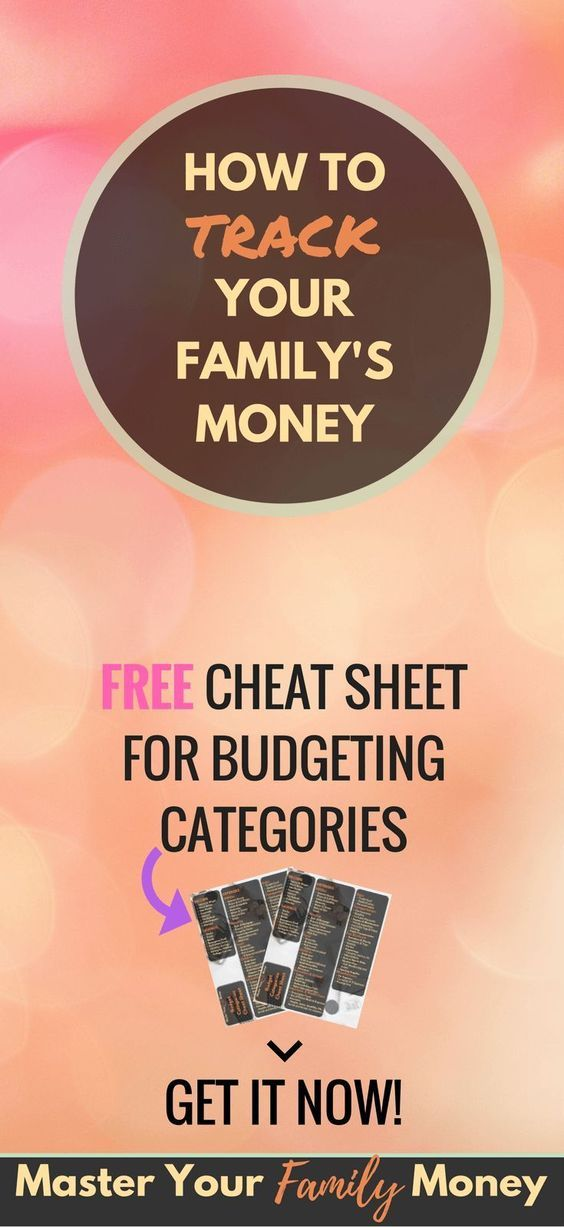 How To Track Your Money And Master Your Finances - Free Budgeting Spreadsheet