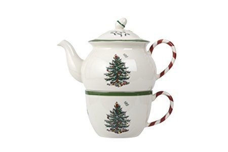 Spode Christmas Tree Peppermint Tea for One Review Serveware